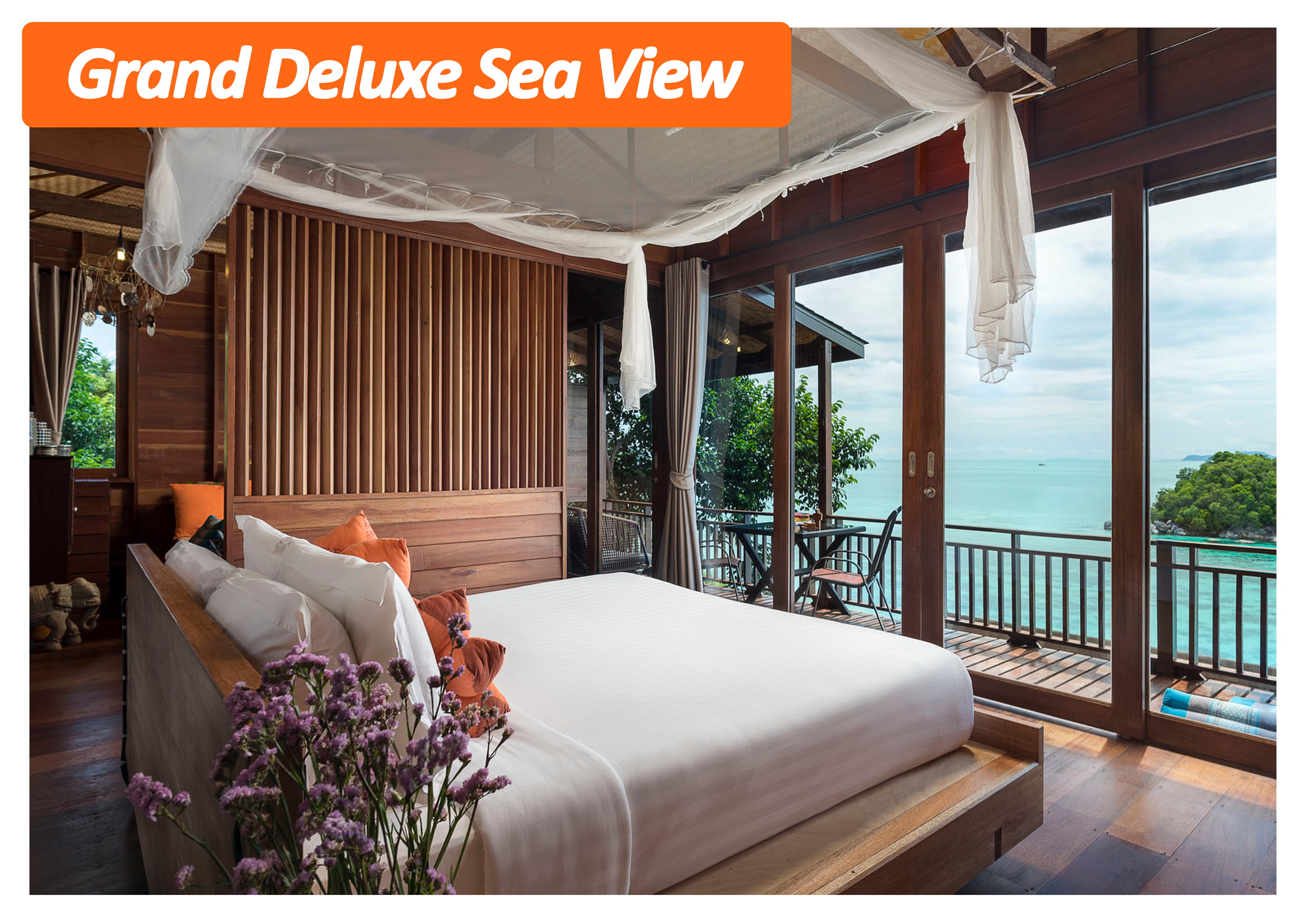 Grand Deluxe Sea View | serendipity resort