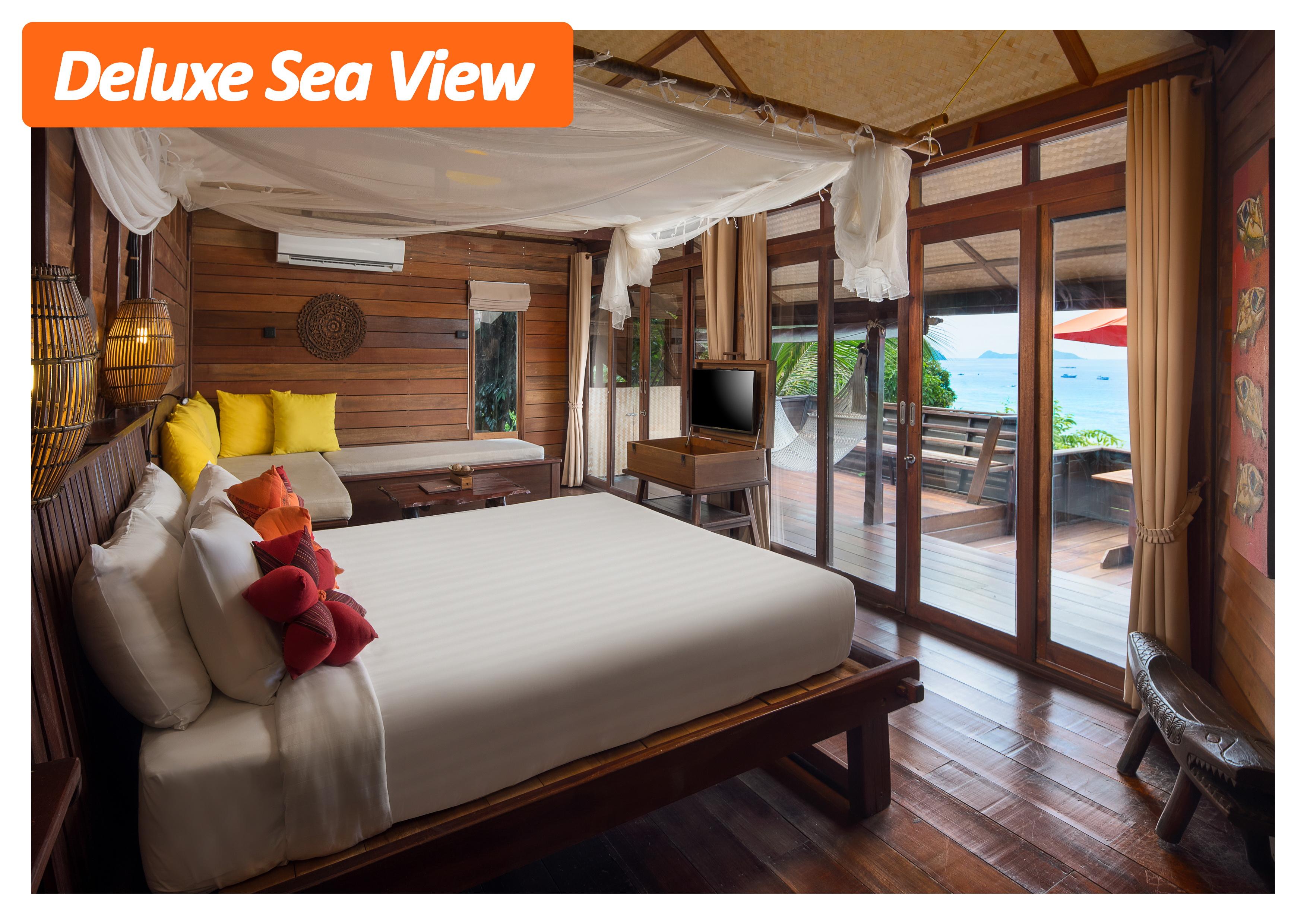 Deluxe Sea View | Serendipity resort