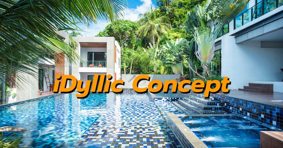 idyllic concept